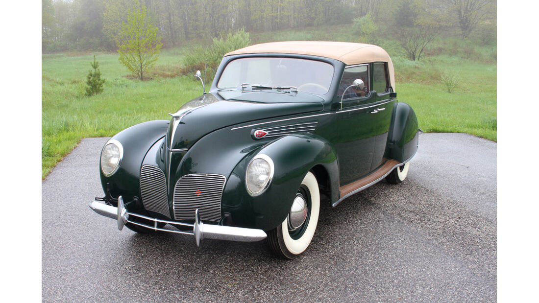 1938er Lincoln-Zephyr Convertible Sedan