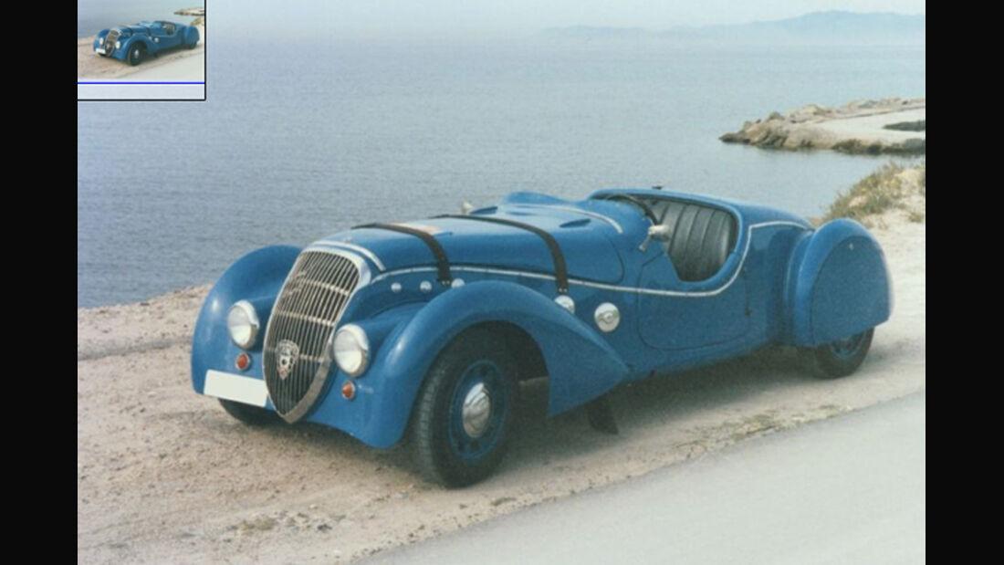 1938er Peugeot 402 Darl' Mat Roadster