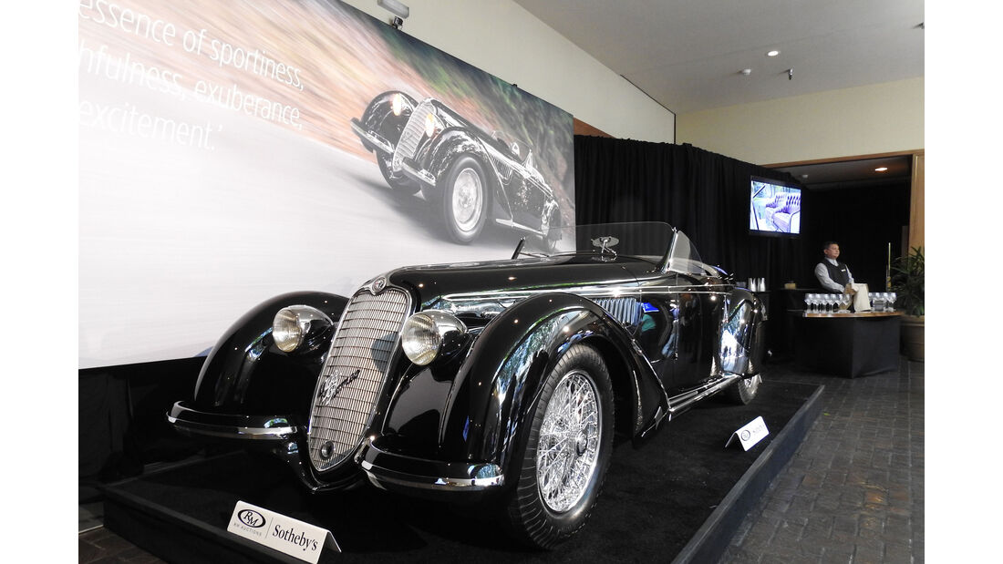 1939 Alfa Romeo 8C 2900B Lungo Spider by Touring - RM Sotheby's - Pebble Beach 2016 - Estimate