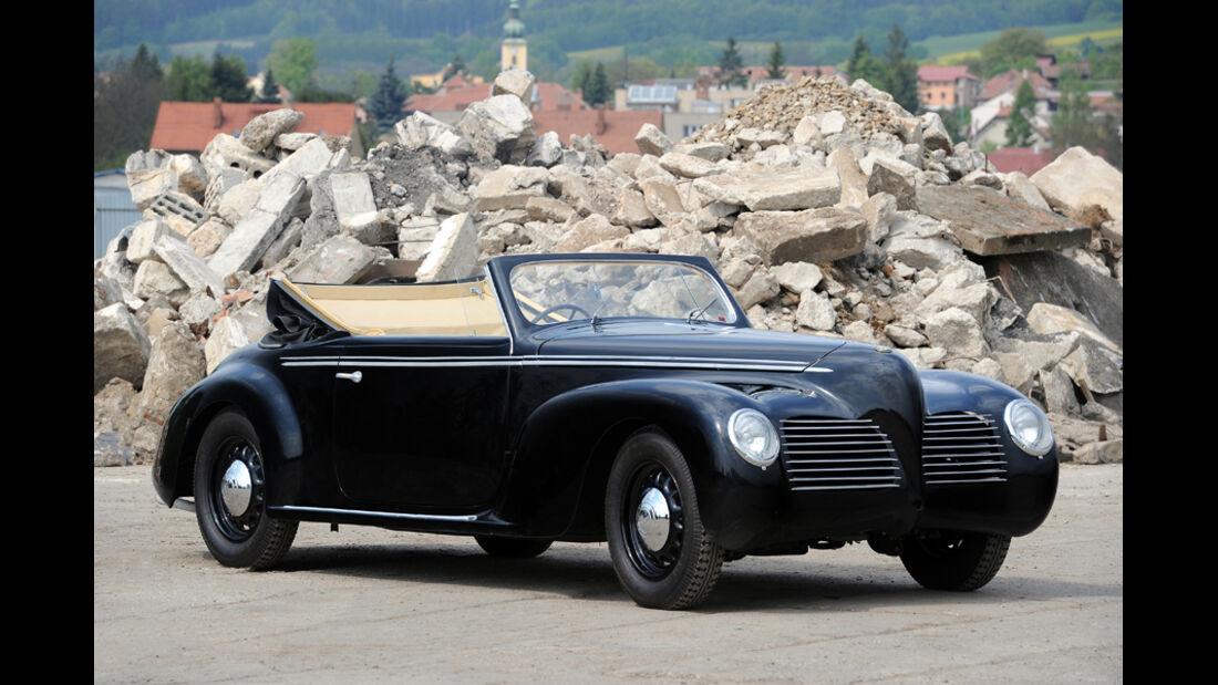 1939er Alfa Romeo 6C 2500 Cabriolet Superleggera