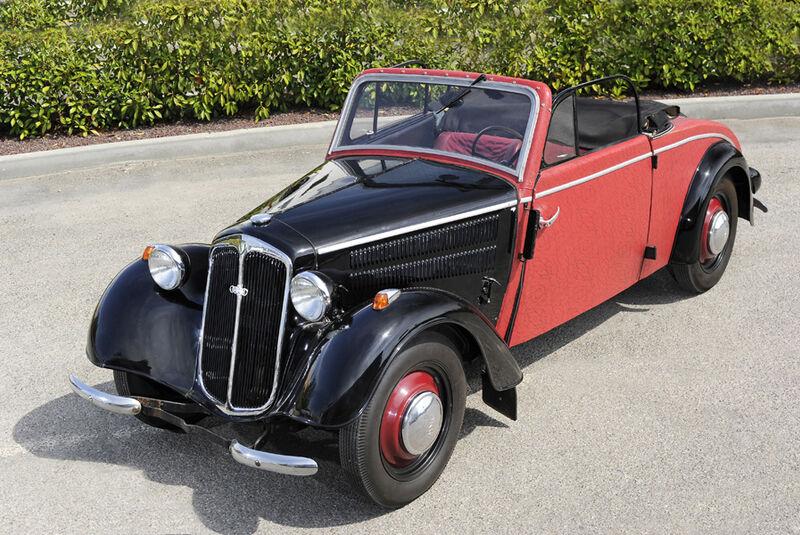 1939er DKW F8 Meisterklasse Cabriolet