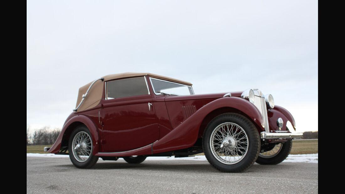 1939er MG VA Tickford Drophead Coupe