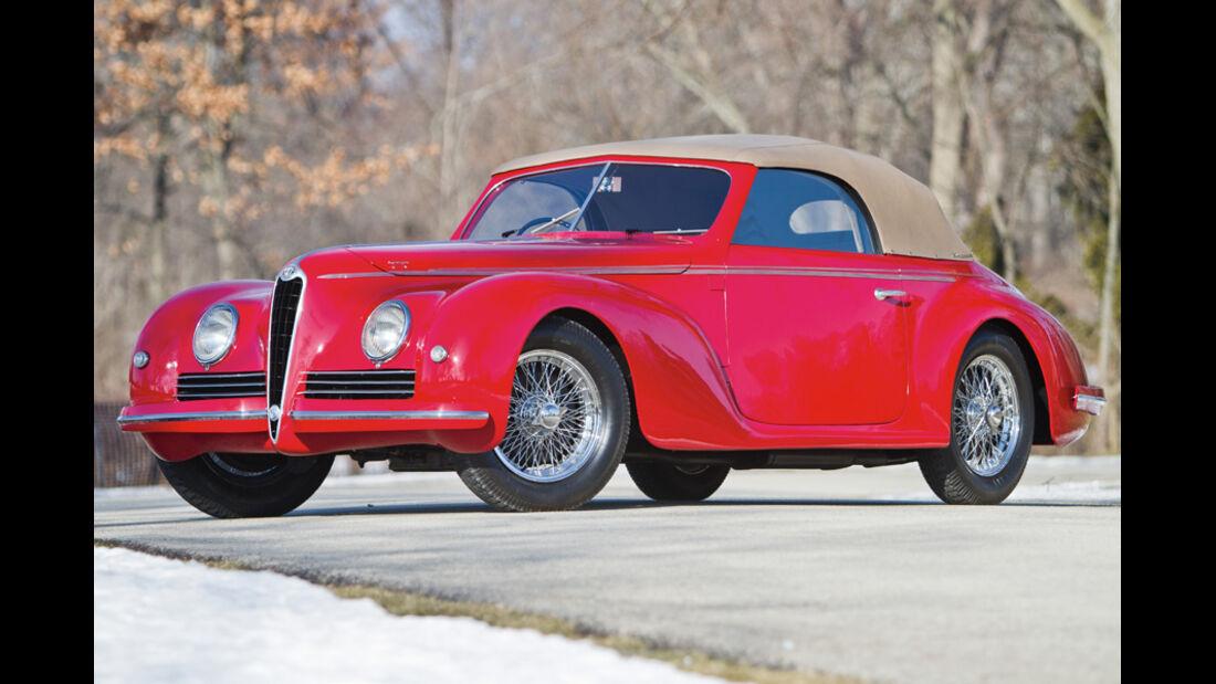 1942er Alfa Romeo 6C 2500 Sport Cabriolet
