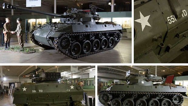 "1944 Buick M18 ""Hellcat"" Tank Destroyer Panzer Auktion"