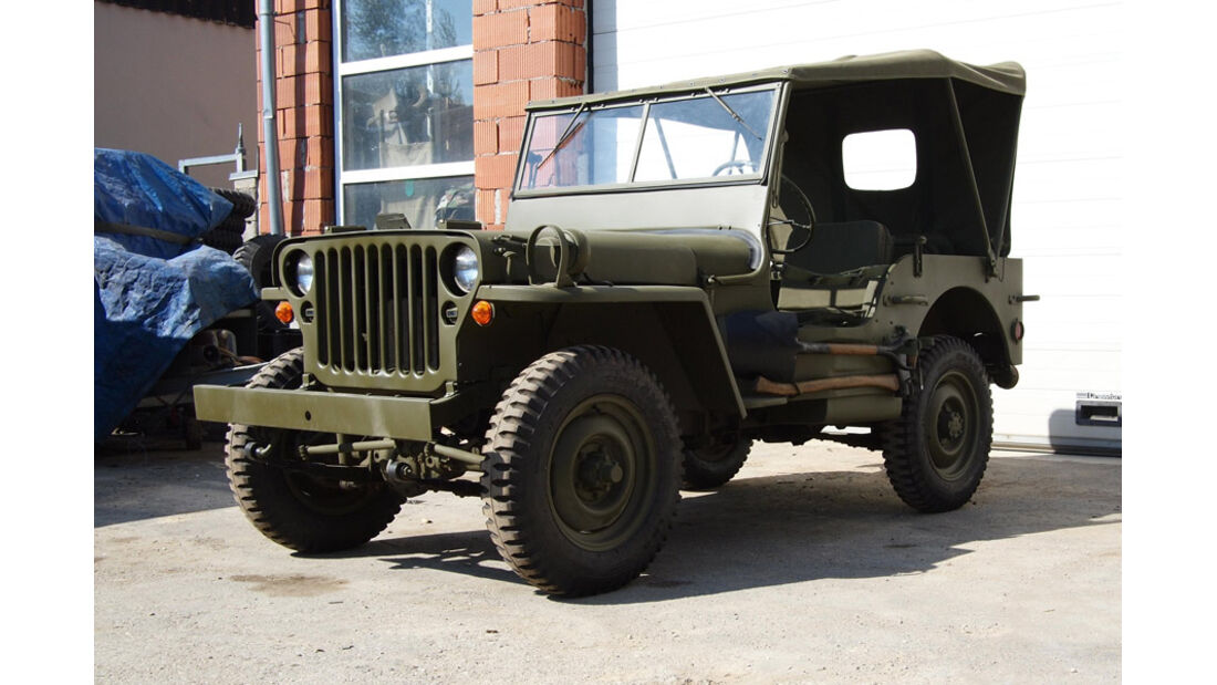 1945er Willys Jeep MB