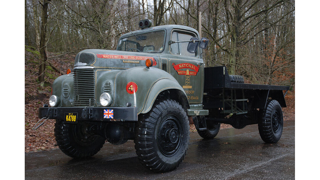 1946 Commer Q4 Utility Truck