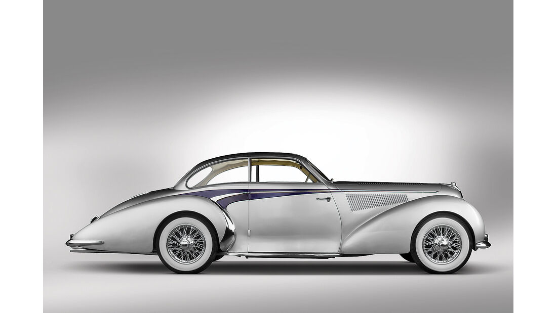 1947 Delahaye 135 MS Coupe by Langenthal