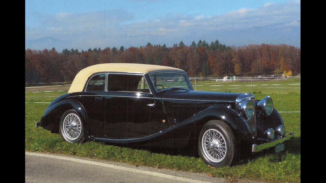 1947er Jaguar Mark IV Worblaufen Cabriolet