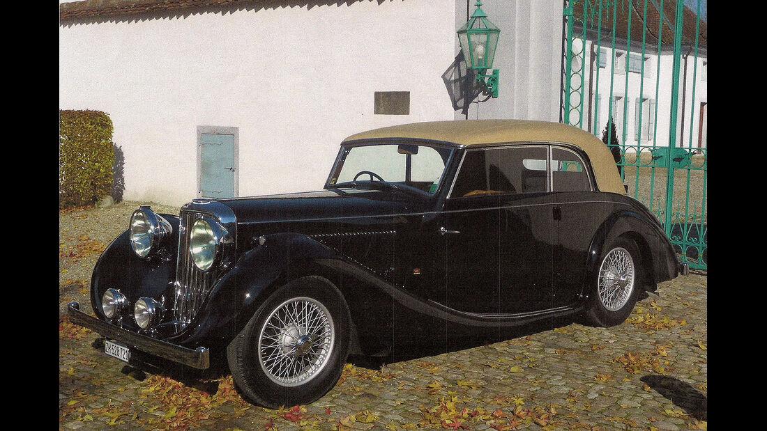 1947er Jaguar Mk. IV Worblaufen Cabriolet