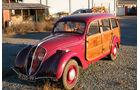 1948 Peugeot 202 Canadienne camionnette 'boisée'.