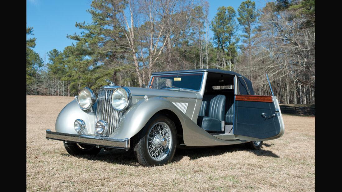 1948er Jaguar Mark IV Drophead Coupe