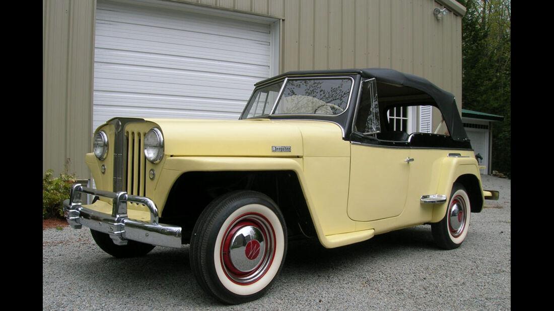 1949er Willys Jeepster Phaeton