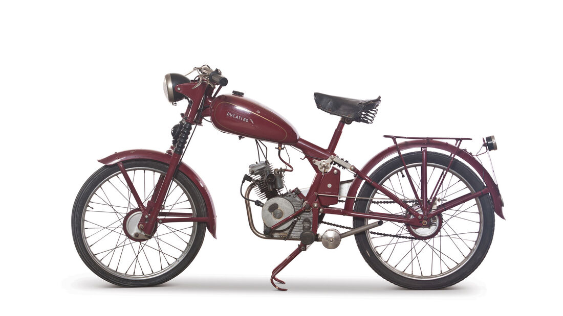1950 Ducati 60 RM Auctions Monaco 2012