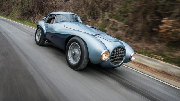 1950 Ferrari Uovo Fahrbericht Motor Klassik MKL