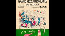 1950 - GP Belgien - F1-Programm - Cover