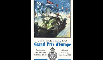 1950 - GP Europa - F1-Programm - Cover