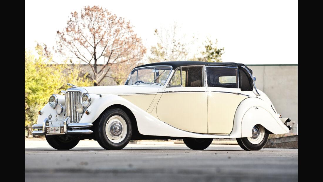 1950 Jaguar Mark V Landaulette