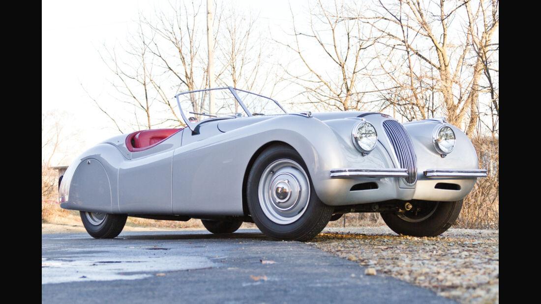 1950er Jaguar XK120 Alloy Roadster