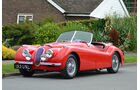 1950er Jaguar XK120 Roadster