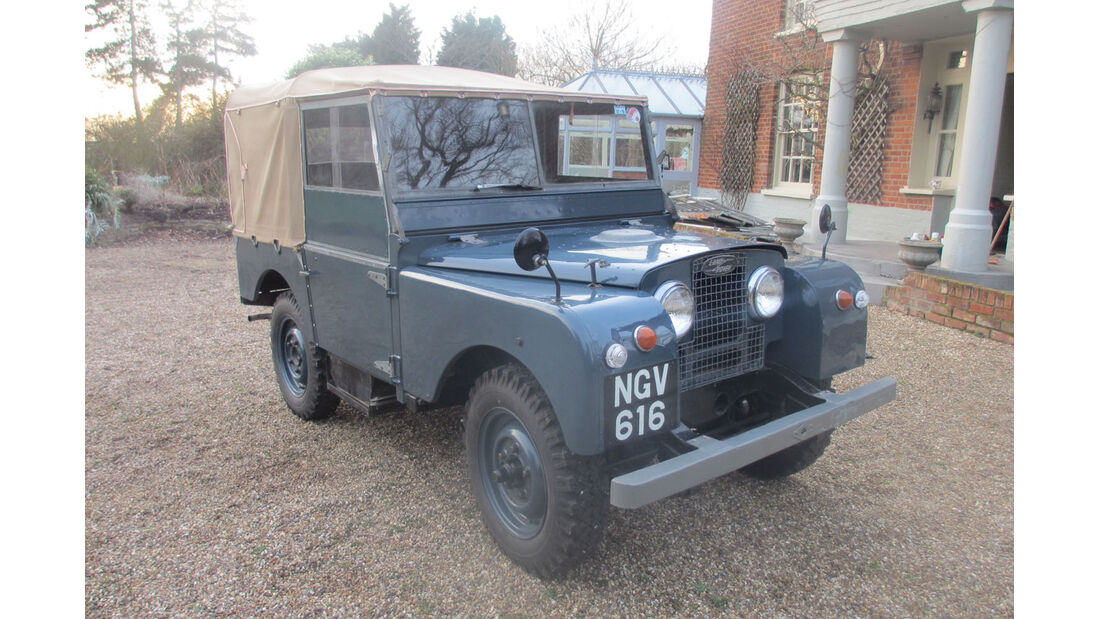 1951 Land Rover Series I.