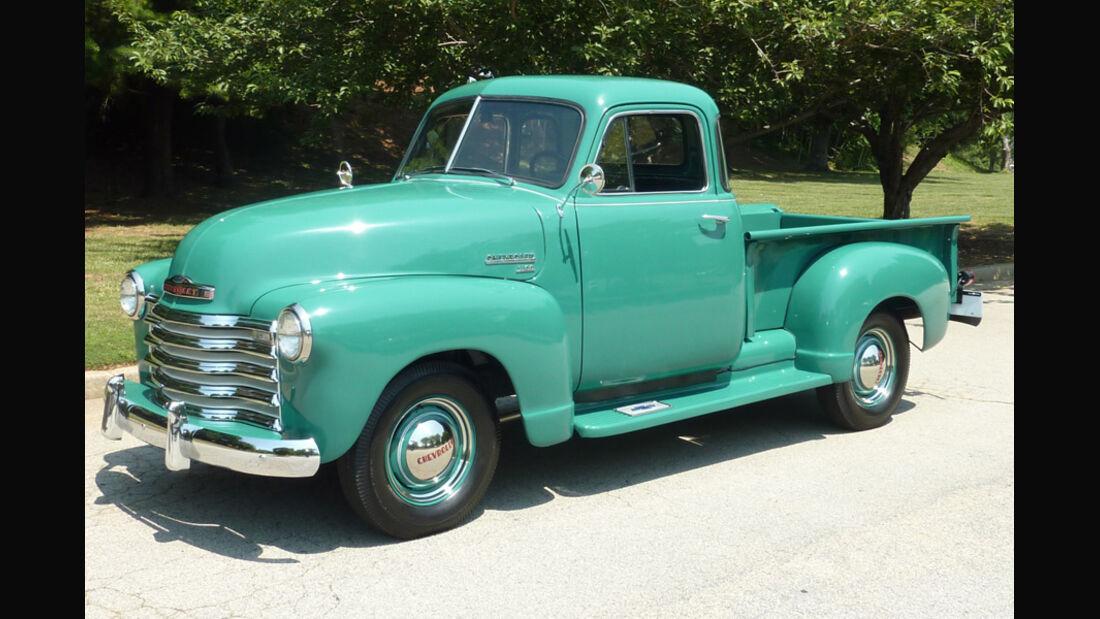 1951er Chevrolet 3100 5-Window Pickup Truck
