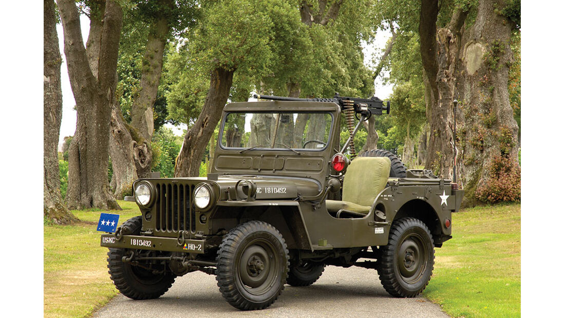 1951er Willys M38 Military Jeep