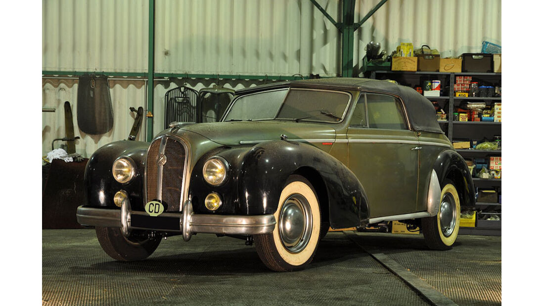 1952 Hotchkiss 2050 cabriolet Anthéor Chapron
