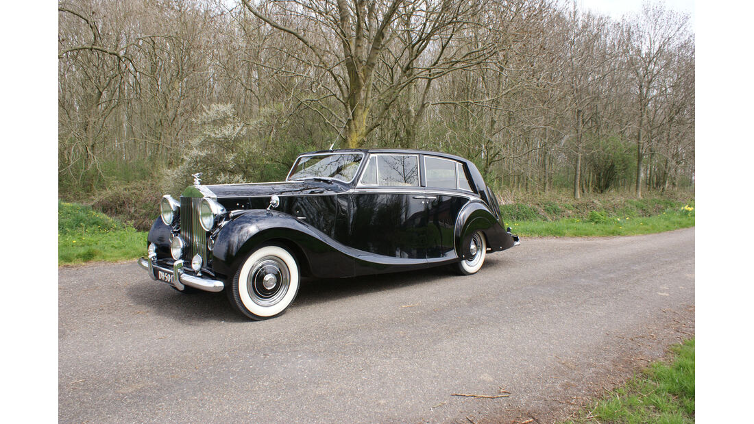 1952 Rolls-Royce Silver Wraith 'Teviot' Touring Limousine Coachwork by Hooper & Co