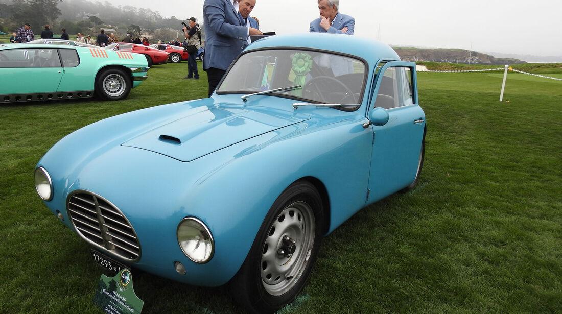 1953 Fiat Bizzarrini Macchinetta Berlinetta - Pebble Beach Concours d'Elegance 2016
