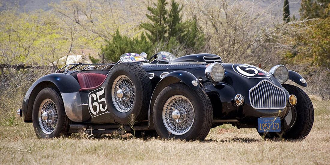 1953er Allard J2X Vintage Racing Car