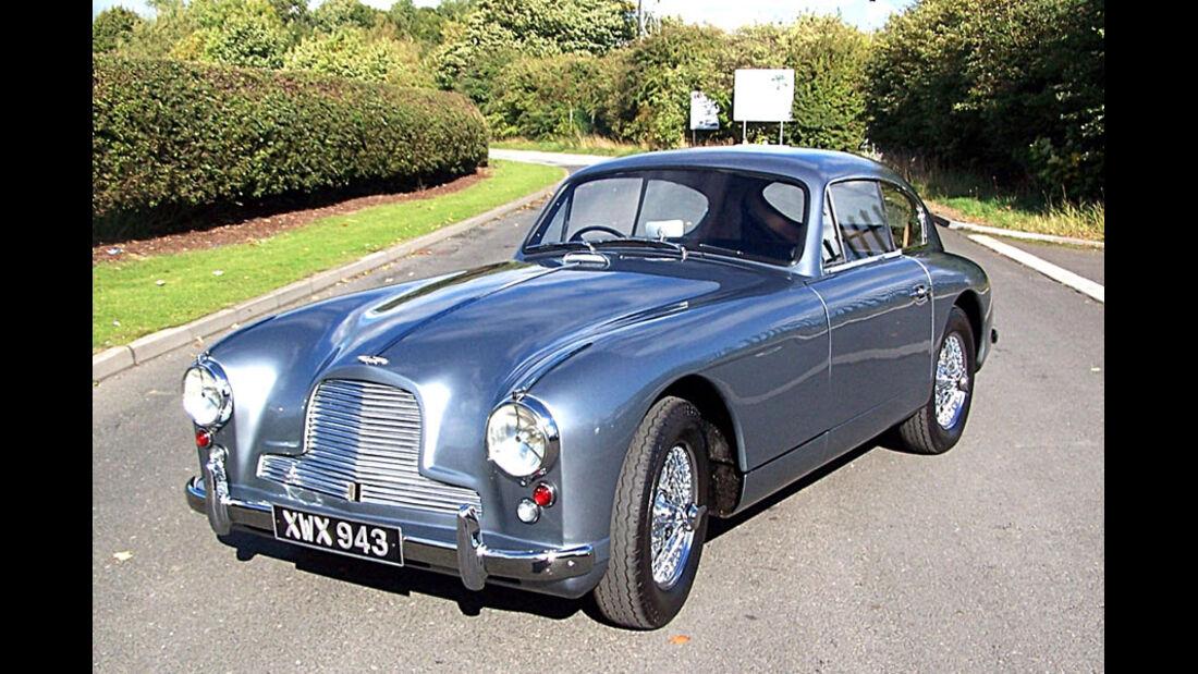 1953er Aston Martin DB2/4 Sports Saloon
