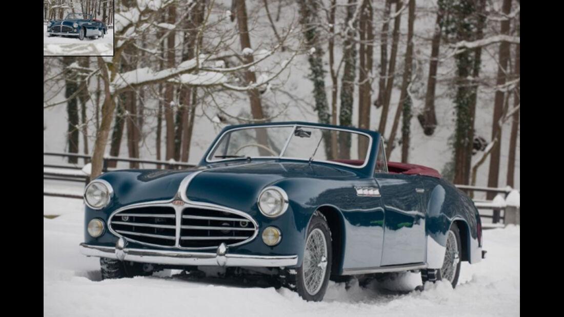 1953er Delahaye 235 Cabriolet Chapron
