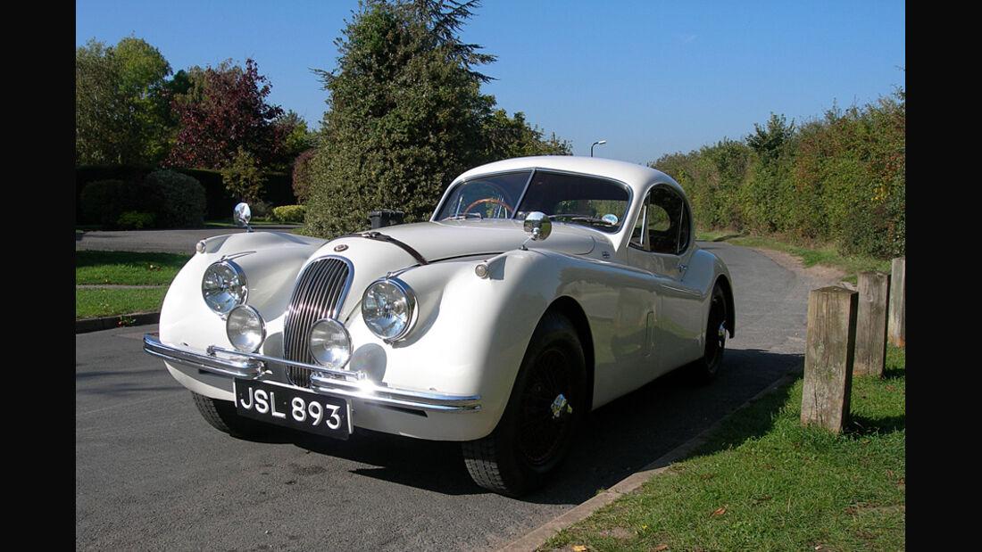 1953er Jaguar XK120 Coupe