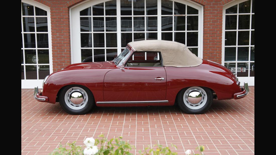 1953er Porsche 356 1500 Cabriolet (Supercharged)