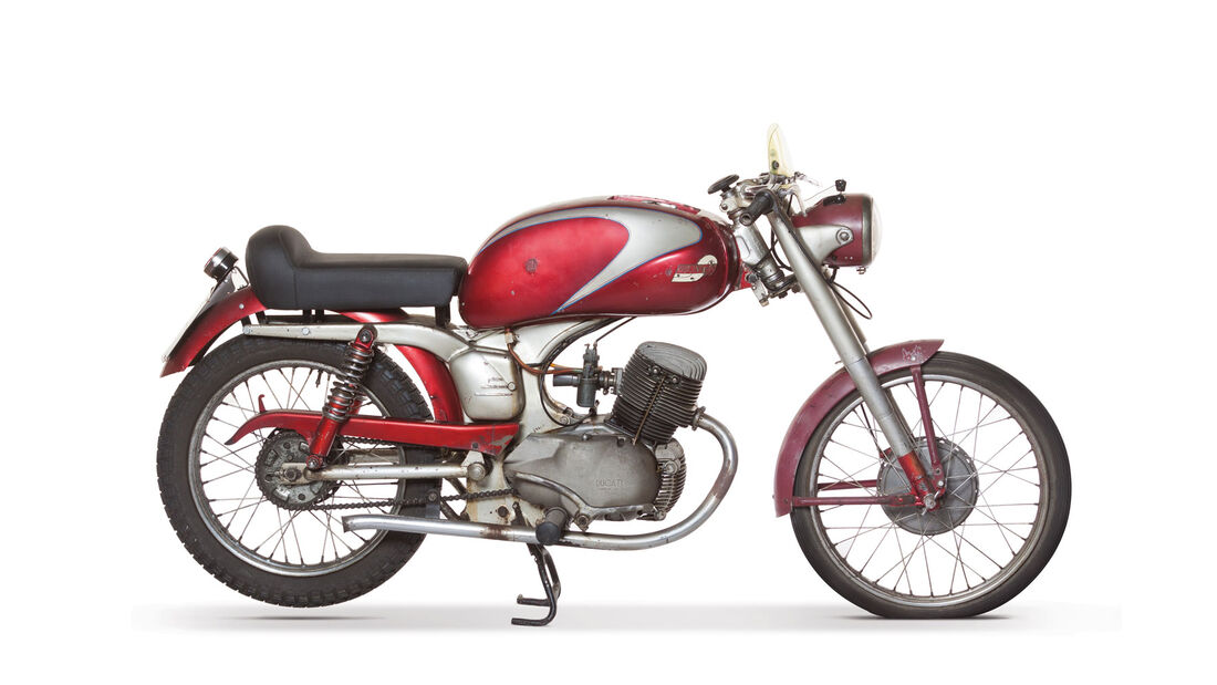 1954 Ducati 98 Moto Giro RM Auctions Monaco 2012
