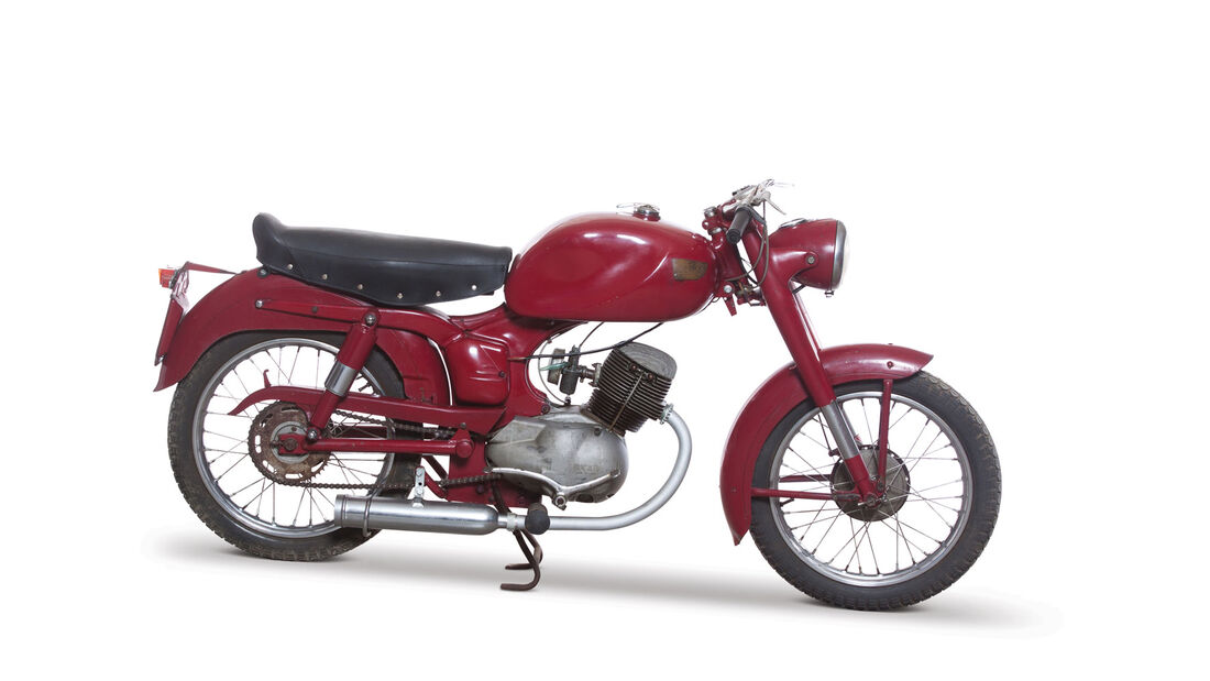 1954 Ducati 98 TL RM Auctions Monaco 2012