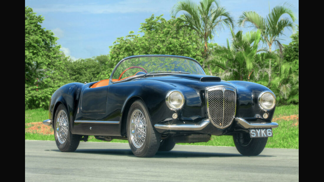 1954er Lancia Aurelia B24 Spider America
