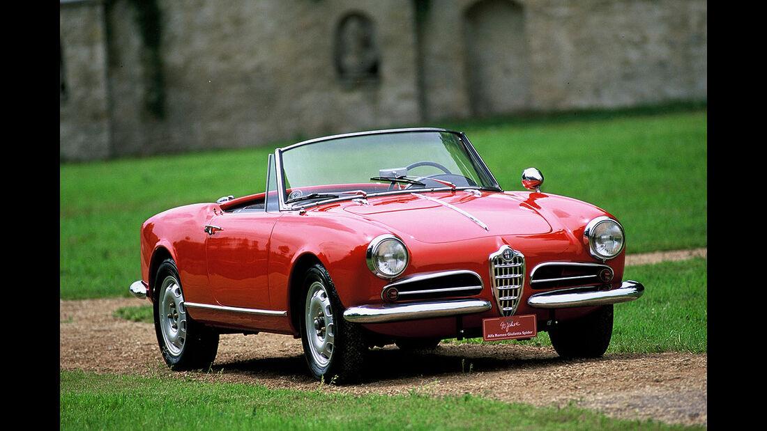 1955-1962 Alfa Romeo Giulietta Spider