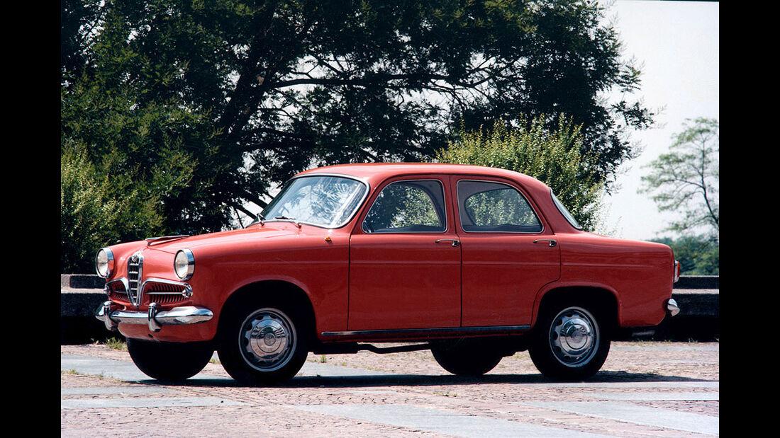 1955-1964 Alfa Romeo Giulietta Berlina