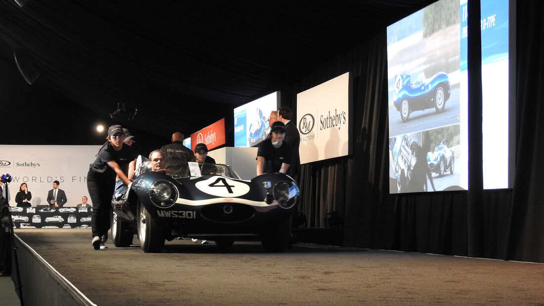 1955 Jaguar D-Type Roadster - RM Sotheby's - Pebble Beach 2016