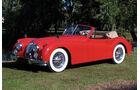1955er Jaguar XK140M Drophead Coupe