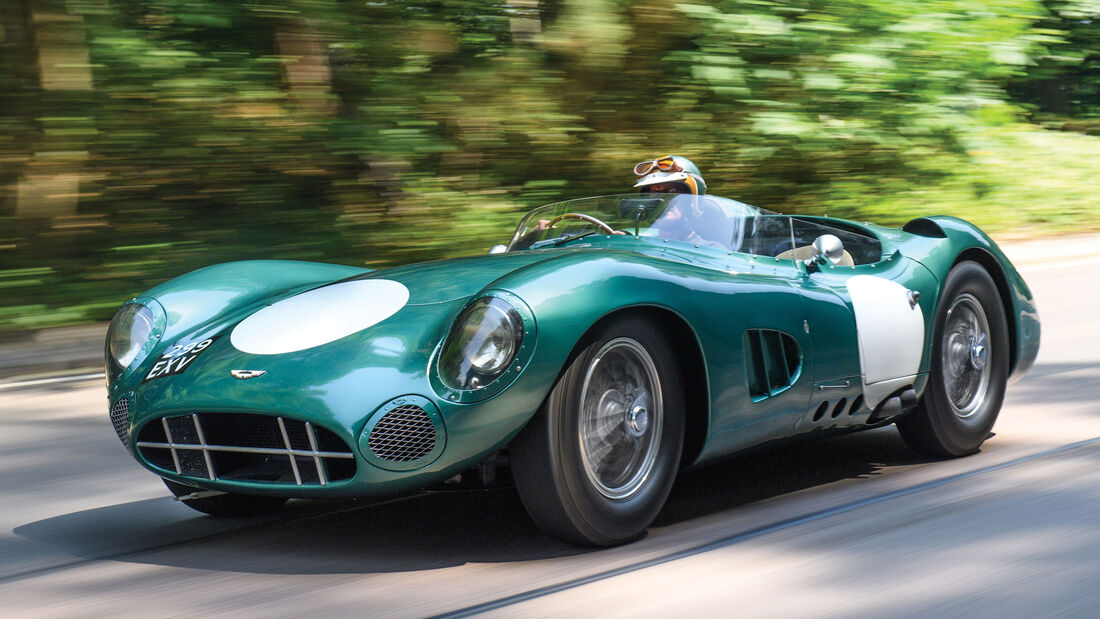 1956 Aston Martin DBR1 - Monterey - Auktion - August 2017