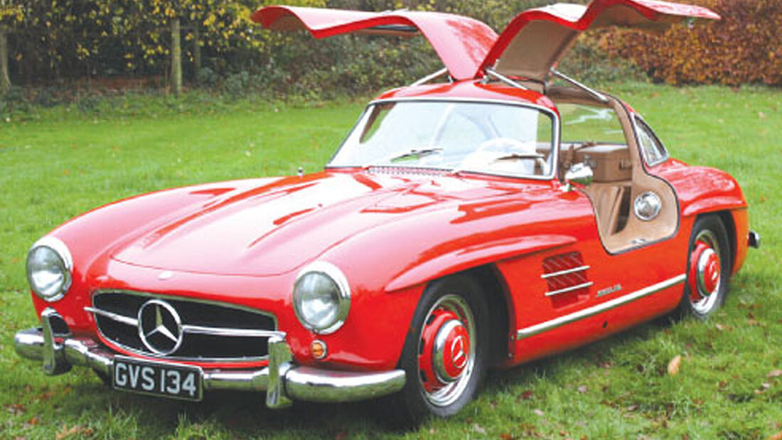 1956 Mercedes-Benz 300SL Gullwing - Ex John Surtees