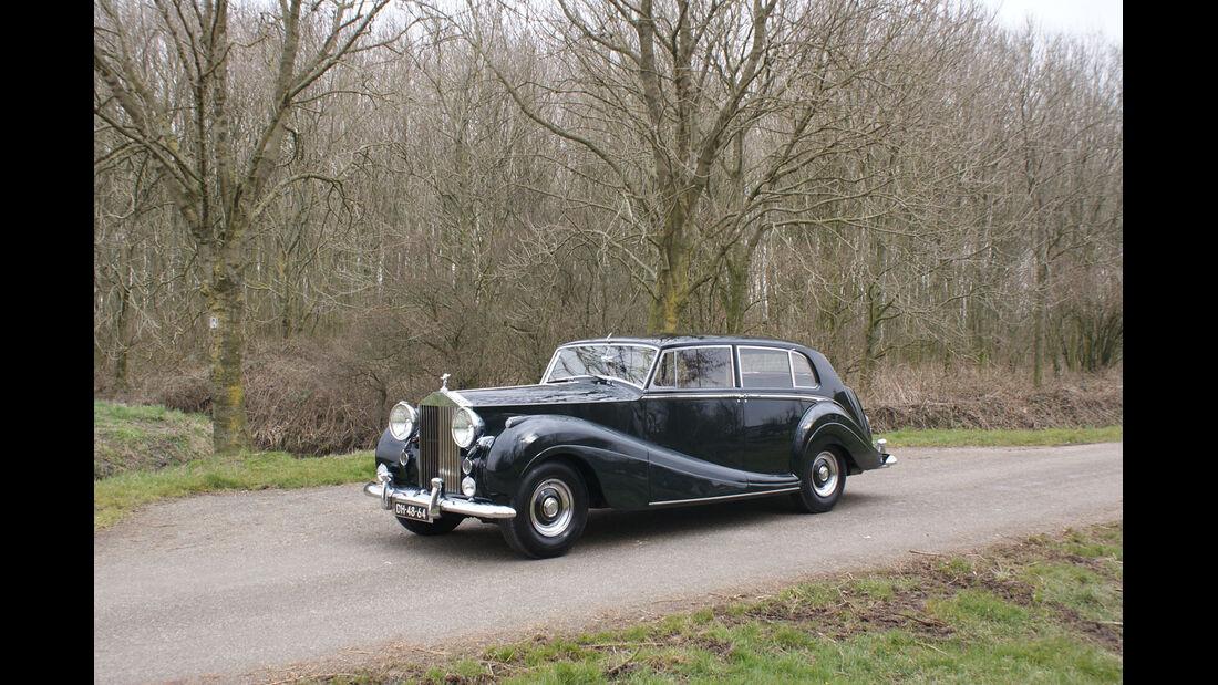 1956 Rolls-Royce Silver Wraith Touring Limousine.