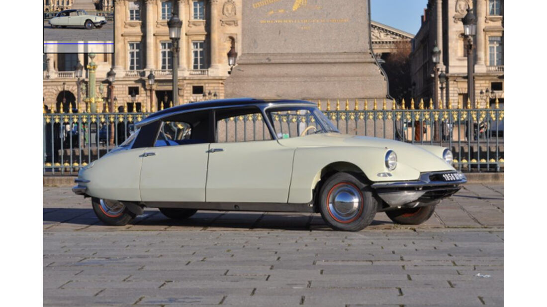 1956er Citroen DS 19