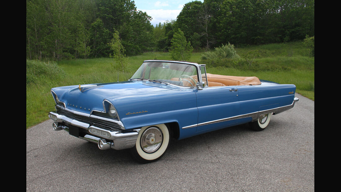 1956er Lincoln Premiere Convertible