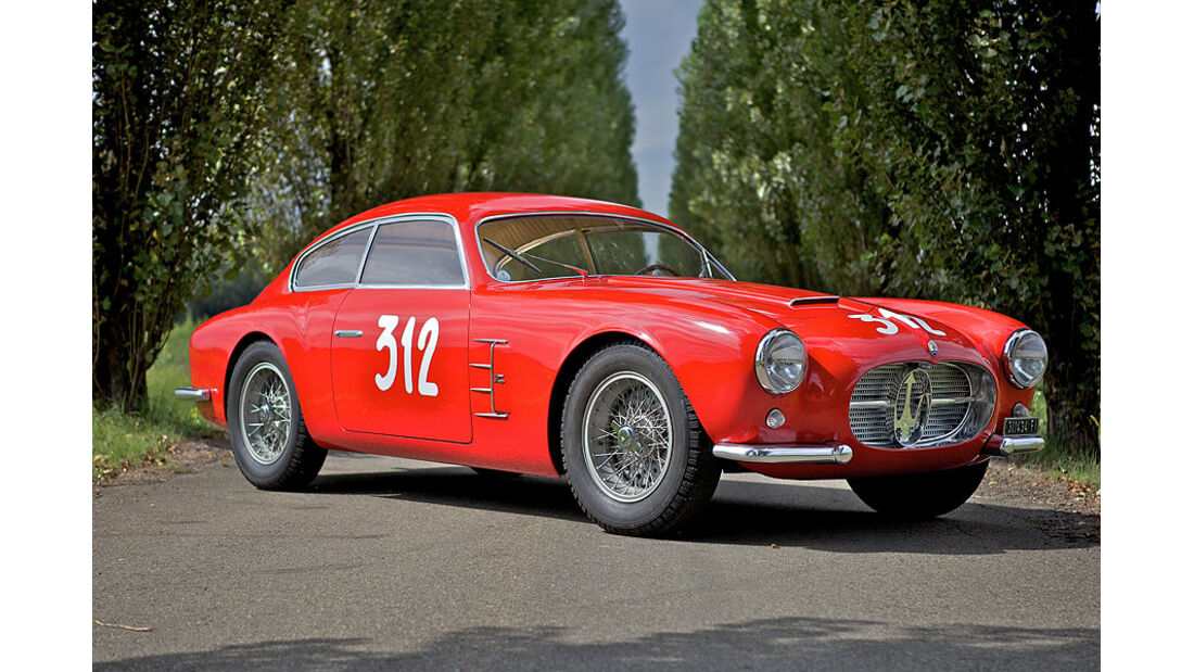 1956er Maserati A6G/2000 Competition Berlinetta