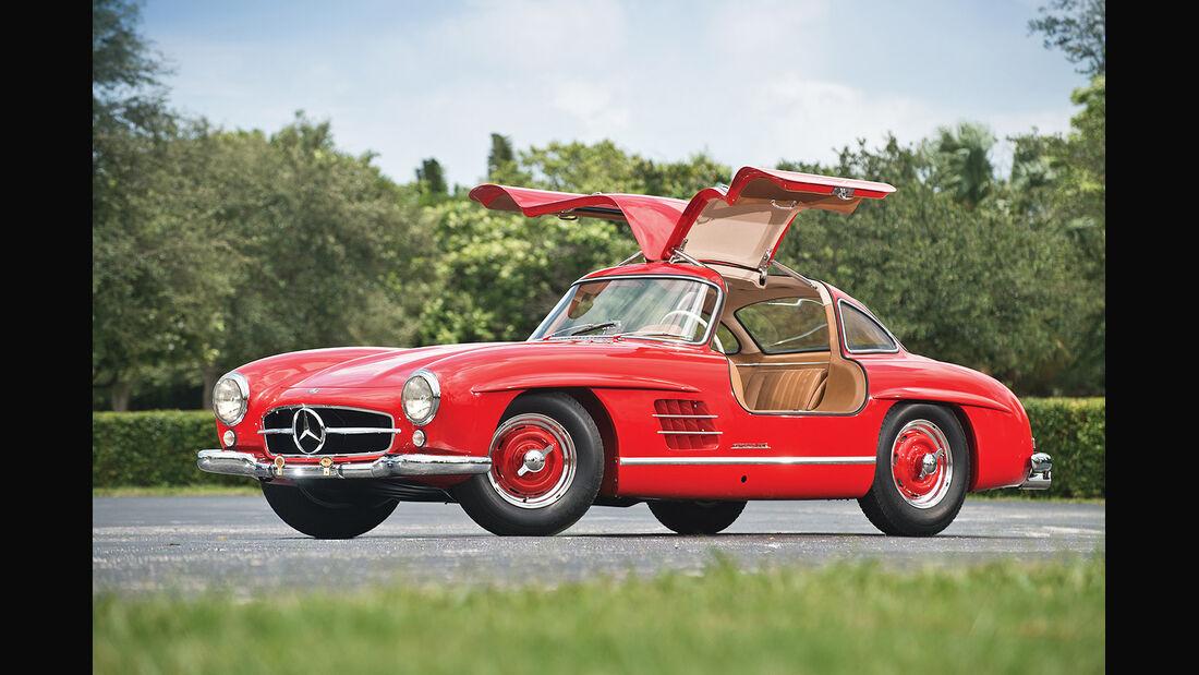 """1956er Mercedes-Benz 300SL """"Gullwing"""" Coupe"""