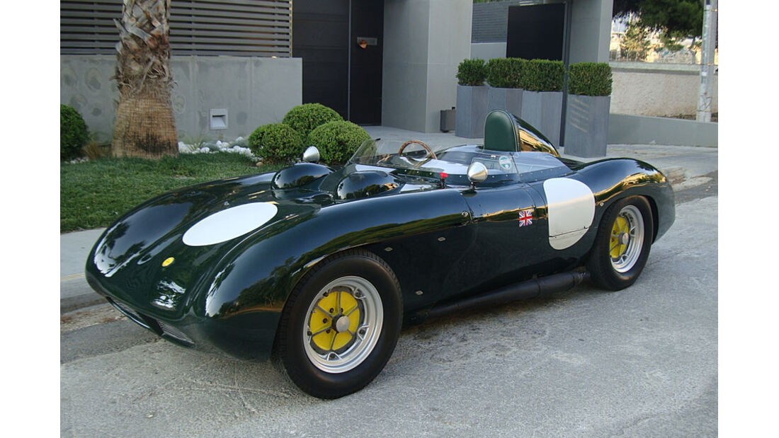 1956er Tojeiro-Butterworth AJB Air-cooled competition Sports Two-Seater.
