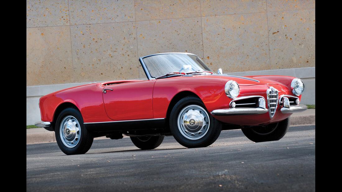 1957 Alfa Romeo Giulietta Spider